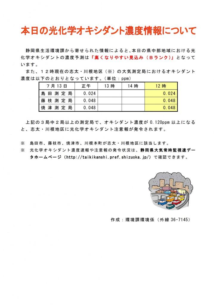 光化学オキシダント
